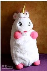 Despicable Me Fluffy Unicorn Plush Pillow Toy Doll Gift Among All Year Children