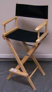 Professional Tall Folding Directors Chair by Help Me Rhonda Rentals Directors Chairs