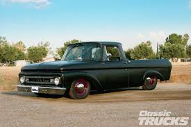 1962 Ford F-100 - The Scavenger - Hot Rod Network Rboy Features Episode 3 Rynobuilts 1961 Ford Unibody Pickup F100 Wrapped Around A Mercedes 300d Engine Swap Depot 63 Big Window On 2003 Marauder Chassis Truck Used Diesel Trucks For Sale Ebay 1962 F 100 Hot Rod Pickup Truck Item B5159 S Cars Web Museum 1963 Unibad Motor Trend 62 Ford Unibody Pickup Truck Slammed Moon Pie W 472 Big Block Ranchero Courier Considers Small Unibody Autoblog Project Cars Sale Pinterest And