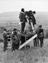 A Previously Unseen Photo Of Stanley Kubrick Filming Barry Lyndon In Ireland Ca 1973