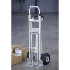 Roughneck Convertible 3-Position Hand/Platform Truck — Aluminum, 550 ... Milwaukee Medical Cylinder Hand Truck 40767 From 15229 Nextag Set Of 2 5 Replacement Casters For Convertible Trucks W Brake Shop Magliner 1000lb Capacity Silver Alinum Magliner Dual Grip Overall Height 51 Heavy Duty Steel On Wesco Industrial Products Inc Gemini Sr Gma81uaf Bh Photo And Truckdomeus Marathon Industries 00313 8 Fixed Caster With Airfilled Pneumatic Pvi In Stock Uline