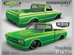 Busted Knuckles - 1968 Chevy C10 - Truckin Magazine