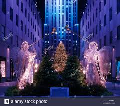 Rockefeller Plaza Christmas Tree Lighting 2017 by Christmas Tree Lights Angels Rockefeller Center Raymond Hood