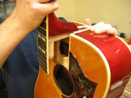 Vintage Gibson Dove Neck Reset