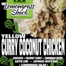 100 Lemongrass Food Truck Yellow Curry Coconut Chicken Threads