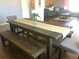 Diy Dining Table Plans Medium Size Of Bench Room Charming Kitchen