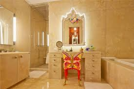 Bathroom Vanity With Built In Makeup Area by Wonderful Theme Of Vanity Makeup Table With Lights