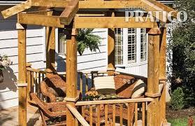 comment construire une pergola en é jardinage et