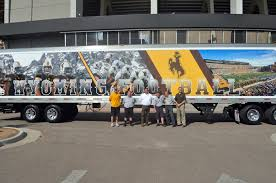 New Wyoming Football Equipment Truck And Trailer Unveiled | KFBC AM1240 Hawkeye Truck Best Image Kusaboshicom 19 Sioux City Ia Ad Manufacturers Of Good Trucks At History And Culture By Bicycle Company Hawkeye Trucking Native Enterprise Dbe Willcox California Electric Drive Salt Sand Spreaders 2018 Greater Iowa Asphalt Conference Equipment Expo Blows Up Apai Bandit Series Sees Firsttime Winner In Tommy Boileau Des Moines Ertl Colctible 1931 Versatility With Style Auto Accsories 28 Photos Parts Supplies 505