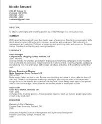 Resume Summary Examples Finance Manager Plus For Make Perfect 2018 Customer Service 474