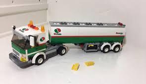LEGO CITY TANK Truck 3180 Octan White Green Energy - $19.99 | PicClick