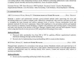Store Manager Job Description For Resume From Grocery Example Examples Of Resumes