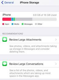 Free Up iPhone Storage with iOS 11 Tools Re mendations & iCloud