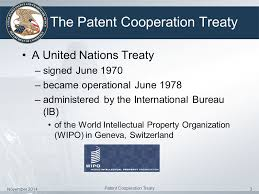 international bureau wipo introduction to the patent cooperation treaty ppt