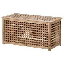 Ikea Holmo Floor Lamp Uk by Hol Bord Med Oppbevaringsplass Akasie Storage Coffee Table