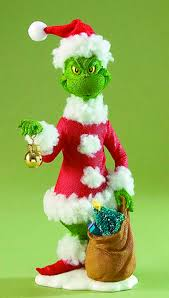 POSSIBLE DREAMS GRINCH STEALING CHRISTMAS FIGURINE