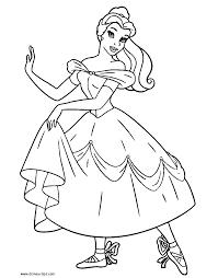 Belle As A Ballerina