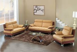neutral wall living room ideas with light brown sofa for
