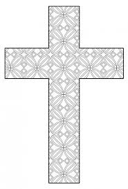 New Cross Coloring Page 84 In Free Book With