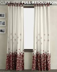 Red Eclipse Curtains Walmart by Curtains Modern Interior Home Design With White Table Lamp And