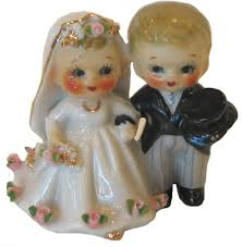 Vintage Cake Topper Beautiful Little China Toppers Will Also Serve As A Sentimental Ornament To Sit On Your Shelf At Home Long After The Guests Have