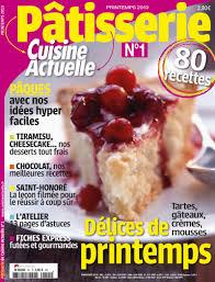 magazine de cuisine prisma media lance pâtisserie cuisine actuelle