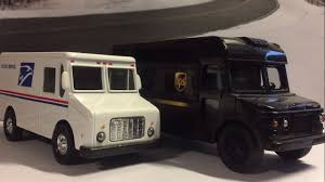 100 Ups Truck Toy Pullback UPS USPS Mail YouTube