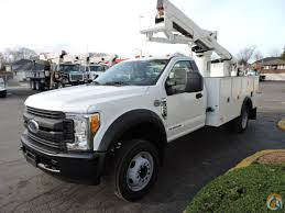 SST-40 EIH Insulated Bucket Truck, 2017 Ford F550 Diesel Crane For ...
