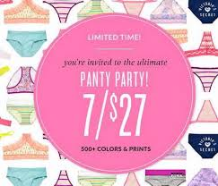 Victorias Secret Pink Halloween Panties 2015 by Victoria U0027s Secret 7 Panties For 27 Free Secret Reward Card