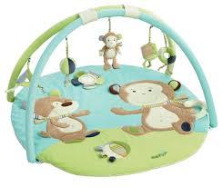 tapis d éveil pas cher singe monkey babysun couches