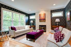 new york candice olson fireplace living room contemporary with