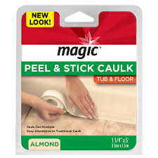 shop magic almond tubs and floors caulk at lowes