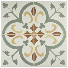 Home Depot Merola Hex Tile by Merola Tile Revival Memory 7 3 4 In X 7 3 4 In Ceramic Floor And