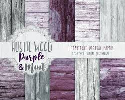 GRAY MINT WOOD Digital Paper Pack Commercial Use Background Painted Barn Wood Purple Distressed Grain