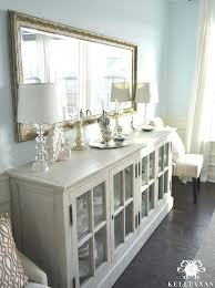 Sideboard Buffet Table Restoration Hardware French Casement In Blue Dining Room Tables