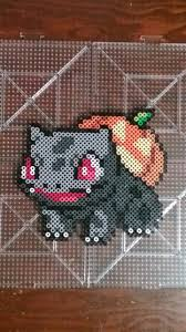 Halloween Perler Bead Templates by Halloween Bulbasaur Perler Perler Beads Pinterest Bulbasaur