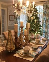 16 Holiday Dining Room Decorating Ideas Fascinating Christmas Table Decorations With Round From Elegant