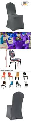 Stretchable Chair Covers Universal Shiny Stretch Cover Spandex Slipcovers Dining Seat For Wedding