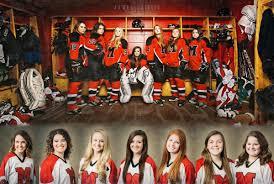 01 Girls Hockey Poster Ideas Medford Wisconsin James Stokes Photography