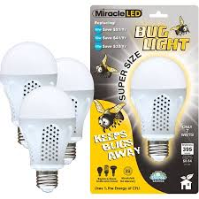 miracle led 7w bug chemical free pests dont like it porch