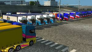 100 Falcon Trucking Convoy ETS2MCG TW RIP On Saturday 21042018