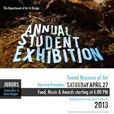 2013 Student Show Poster By Jordan Swenson