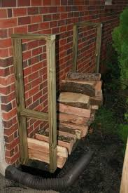 tips for storing firewood using a firewood rack