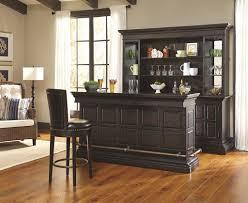 Pulaski Furniture Curio Cabinet by Pulaski Furniture Burton Traditional Bar With Granite Top