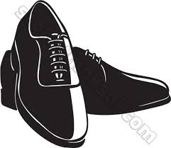 Mens Dress Shoes Clipart Black And White