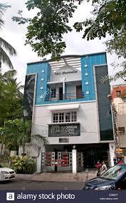 100 Modern House India Architecture Chennai Madras Tamil Nadu Stock