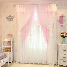 senisaihon weihnachten prinzessin spitze rosa blackout vorhang mädchen schlafzimmer tüll vorhang hochzeit zimmer voile vorhang für wohnzimmer