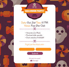 Free Cute Halloween Flyer Templates by Wickedly Effective Templates For Halloween Getresponse Blog