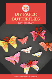 Pinterest Image For DIY Paper Butterfly