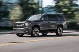 2018 Chevrolet Tahoe RST Performance Edition First Test: Halfway ... Lowering A 2015 Chevrolet Tahoe With Crown Suspension 24inch 1997 Overview Cargurus Review Top Speed New 2018 Premier Suv In Fremont 1t18295 Sid Used Parts 1999 Lt 57l 4x4 Subway Truck And Suburban Rst First Look Motor Trend Canada 2011 Car Test Drive 2008 Hybrid Am I Driving A Gallery American Force Wheels Ls Sport Utility Austin 180416